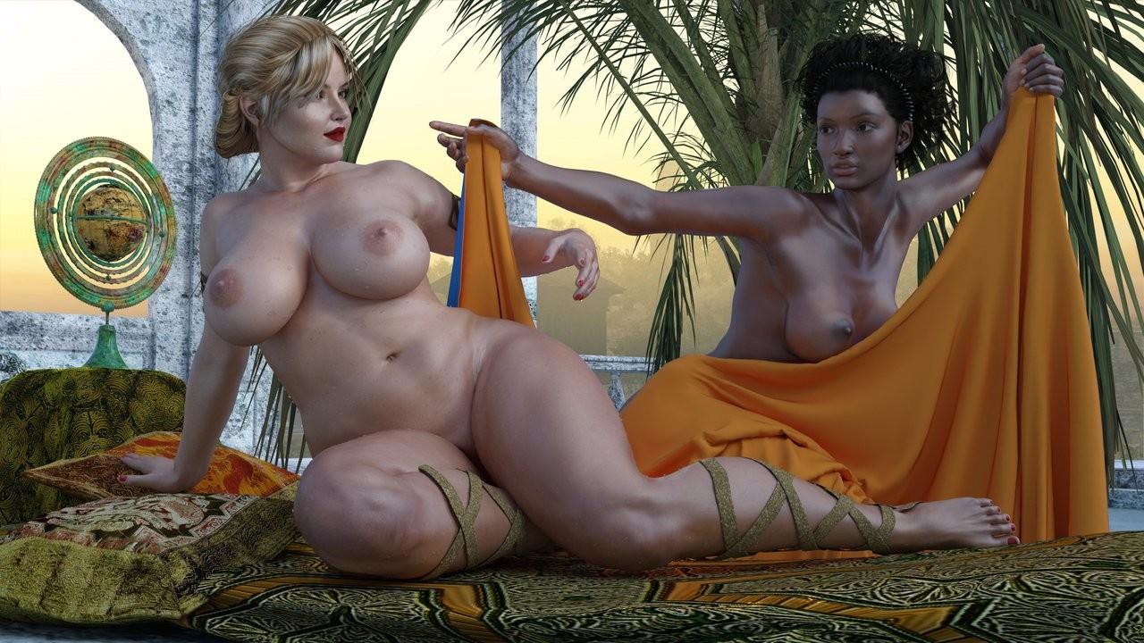 Art nude women big tits