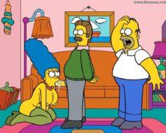 Homer simpson & Marge simpson