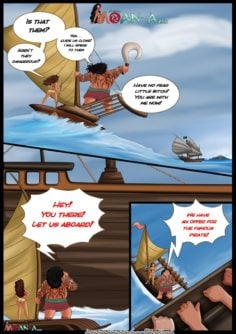 Moana Comic – Moan-a Return Part 2