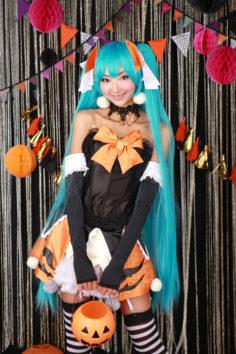 [NECOSMO (Necoco)] Halloween Miku (VOCALOID)