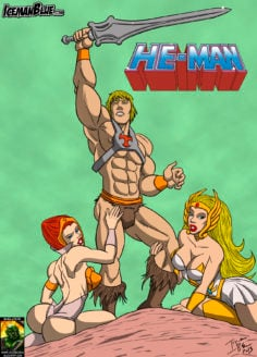 [Iceman Blue] He-Man (He-Man and the Masters of the Universe) (Spanish) [kalock]