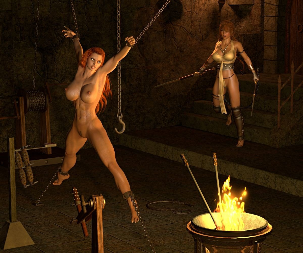 Naked girl torture fantasy