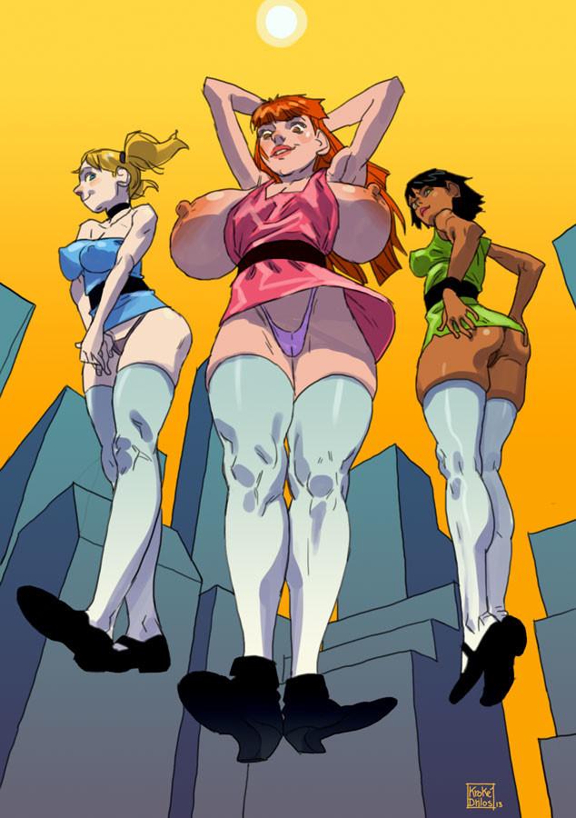 Hentia powerpuff girls comic strip 15