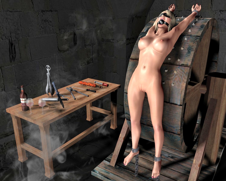 Naked girls in peril