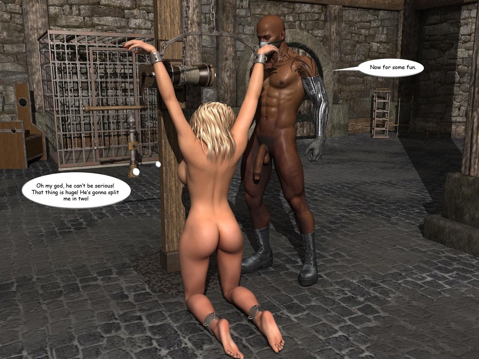 White slave porn