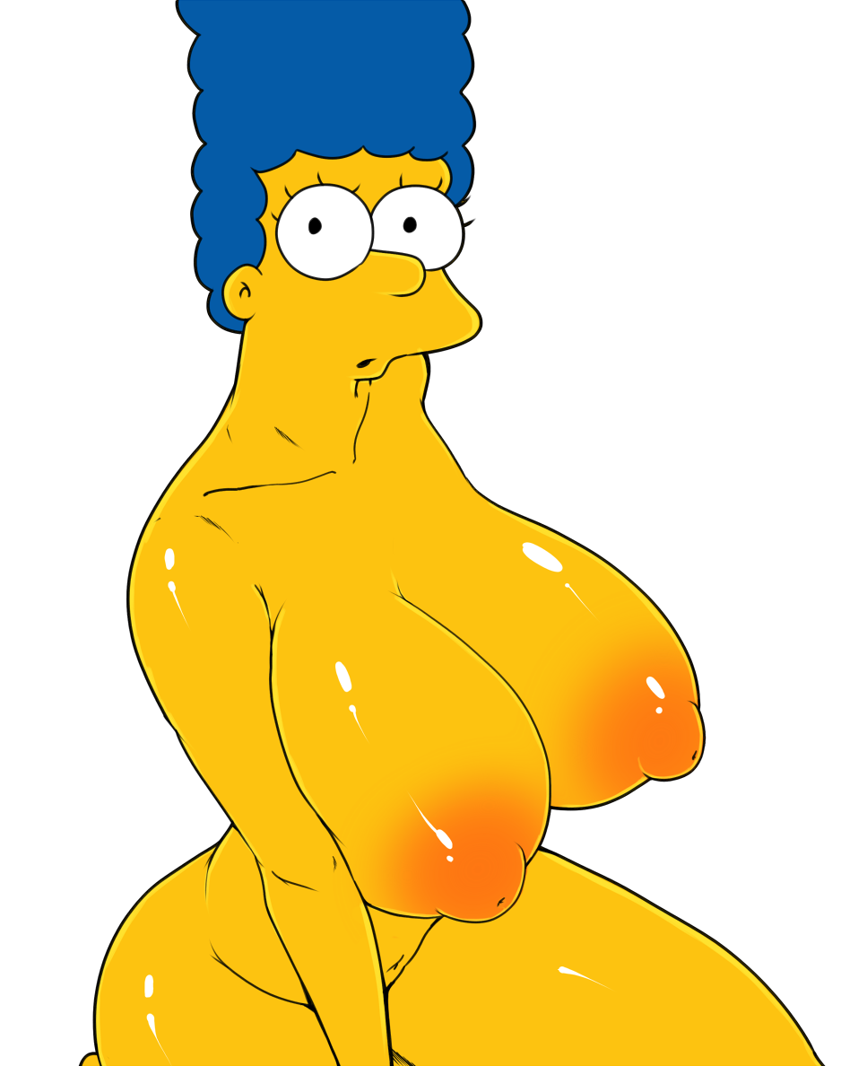 Nipples nude pictures of marge simpson