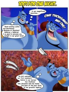1001 For One Night (Aladdin)