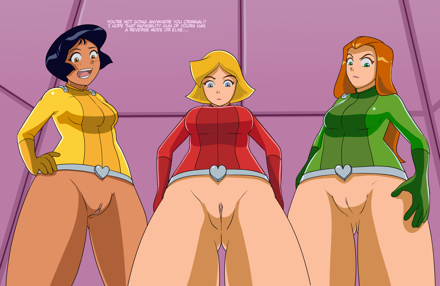 Totally spies anal pics