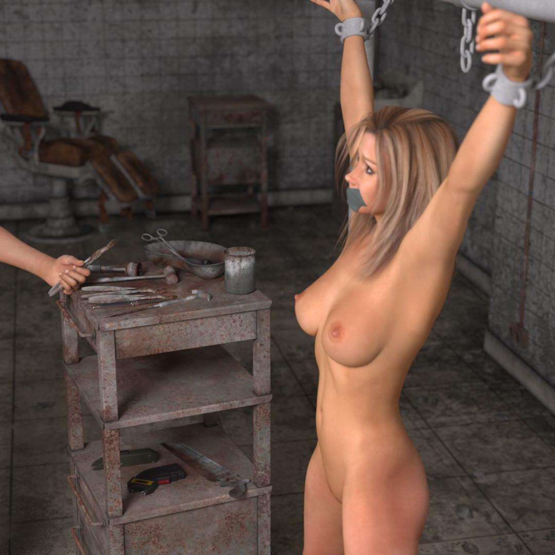 Barn bondage torture