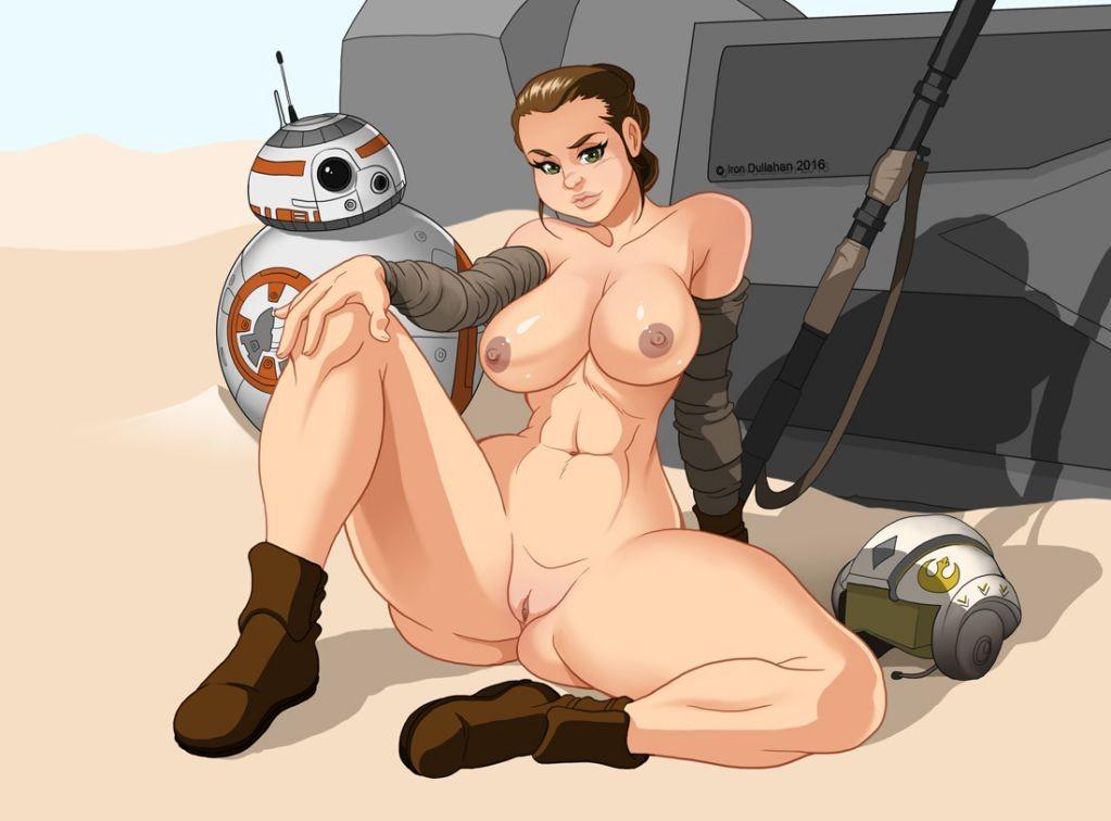 Rey star wars porn