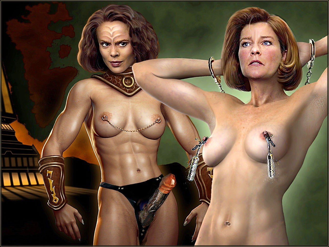 Kate mulgrew boob naked