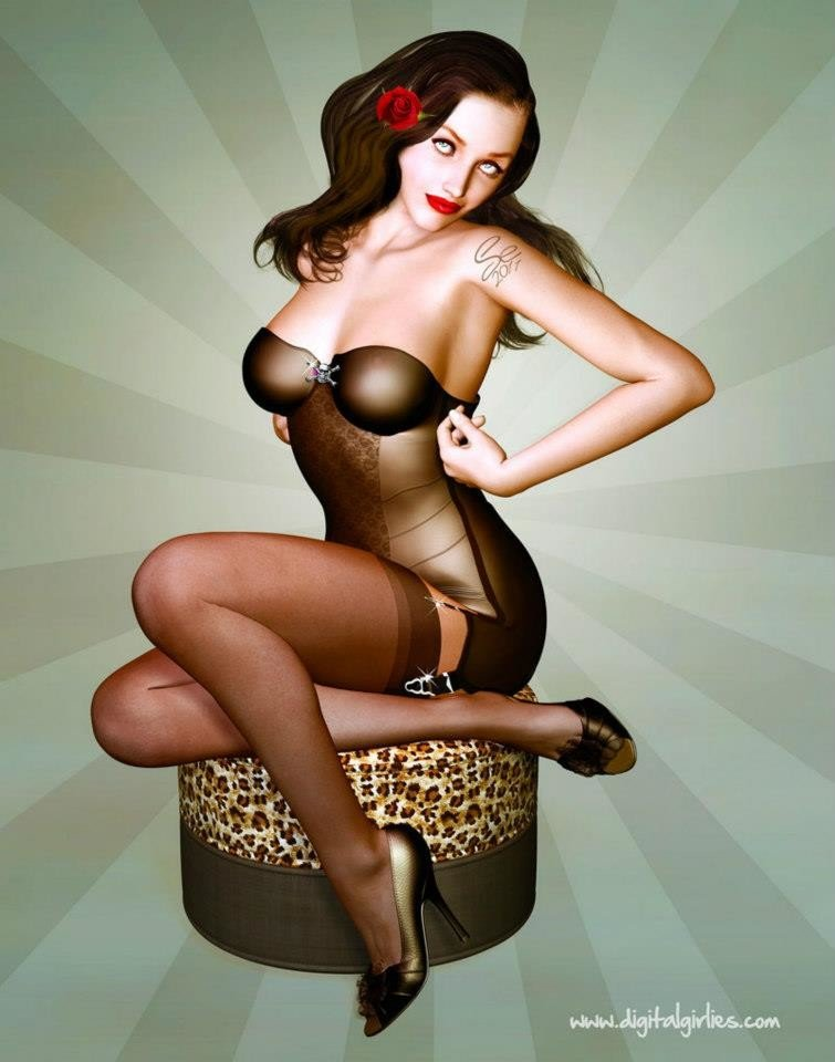 Free Pin Up, Pornstar Pictures