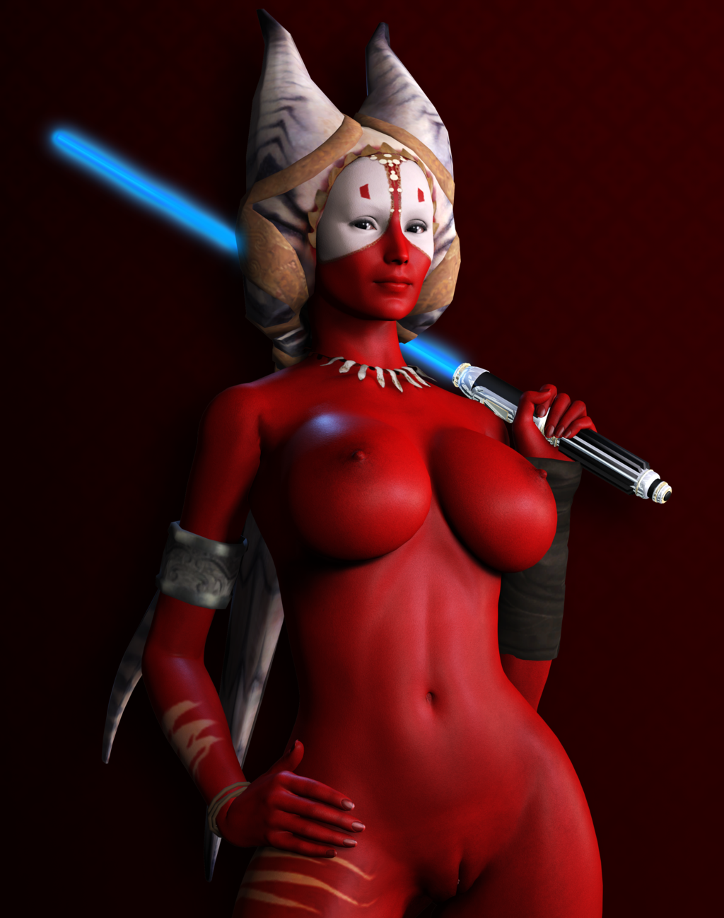 shaak ti naked slut