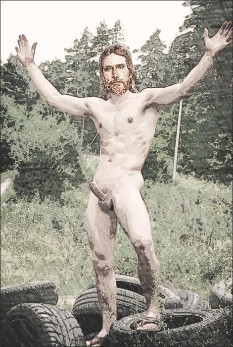 Jesus likes porn