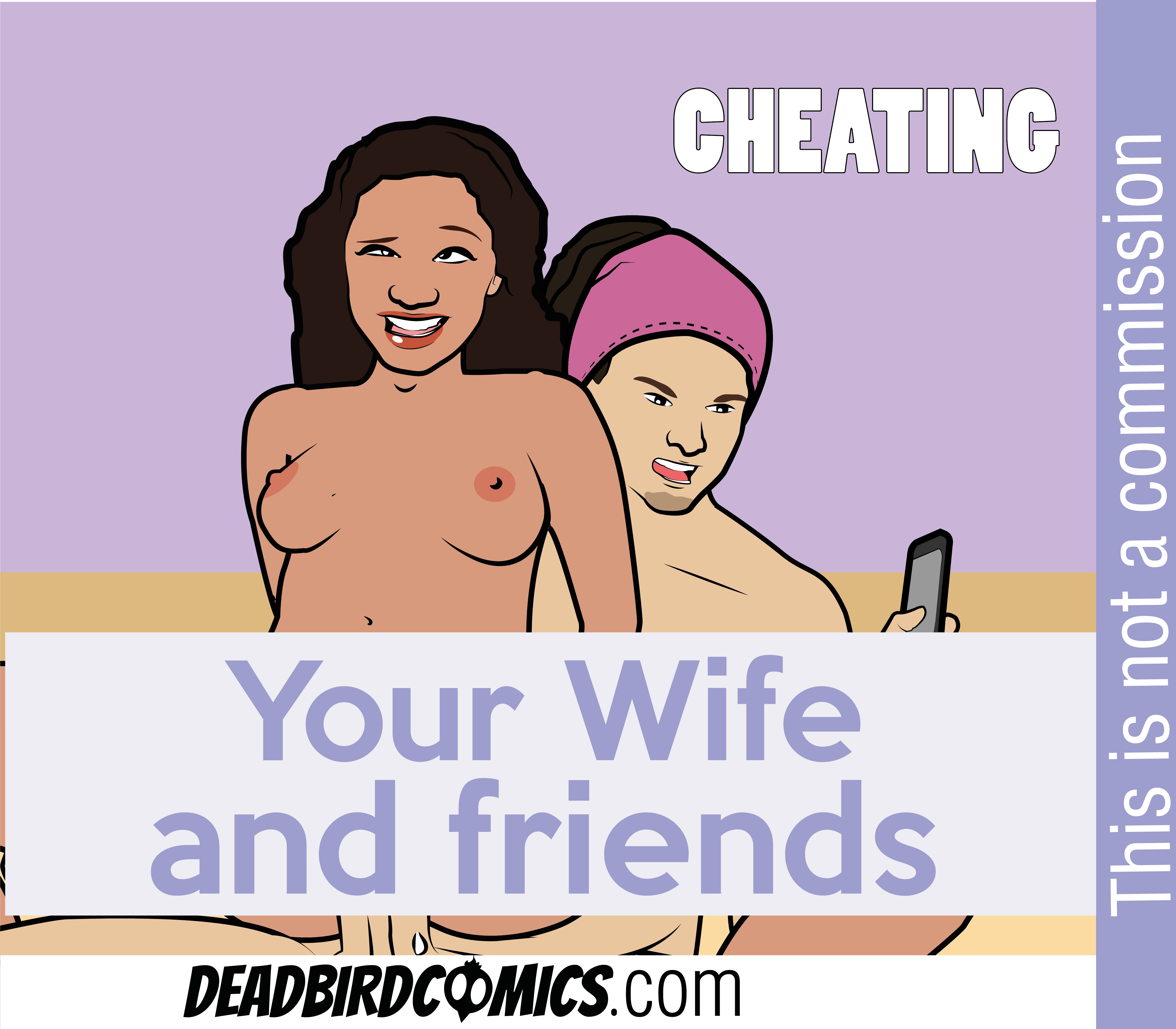 CUCKOLD!!!! CHEATING LATINA WIFE….COMPLETE COMIC- BASED ON REA