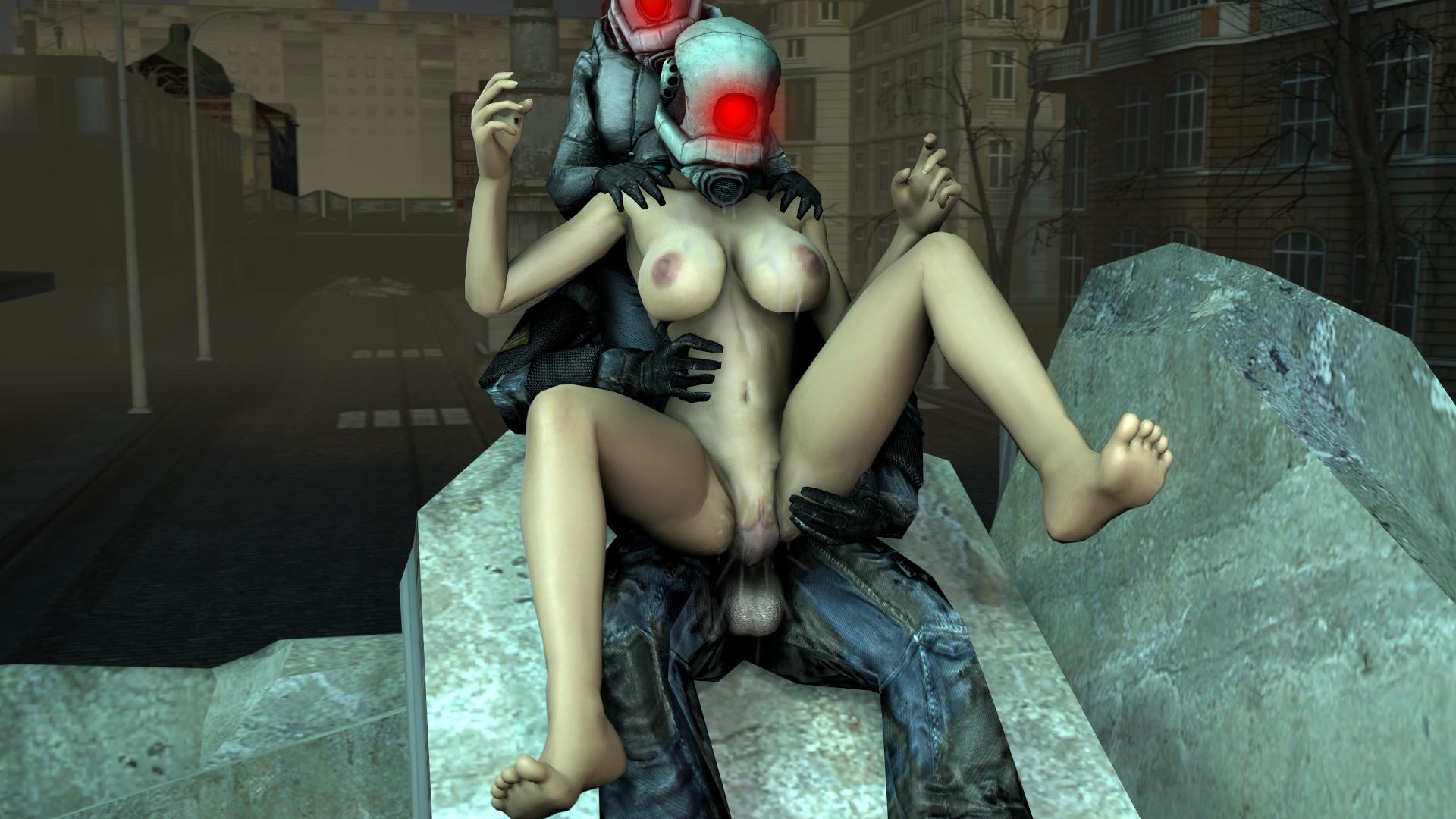 Аликс Вэнс Alyx Vance из игры Халф Лайф Half Life в Порно