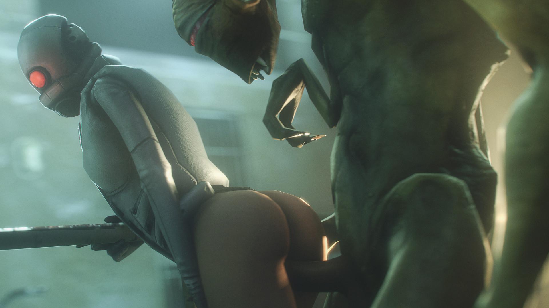 Куни порно с комбайнами девушке