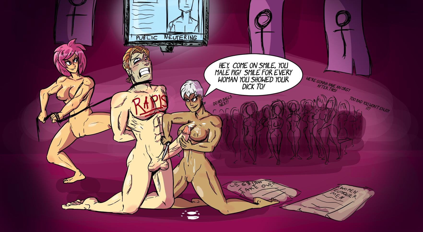Hentai Penectomy