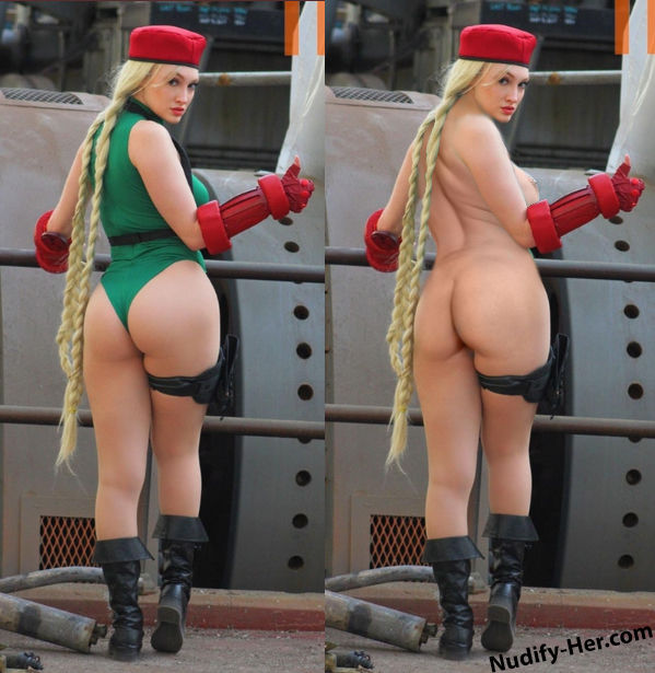 Cammy nude cosplay