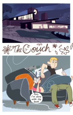 [Uanonkp] The Couch (Kim Possible)