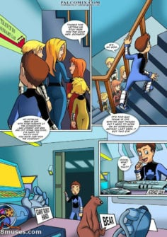 Power Pack Comic – Orgy with Spiderman