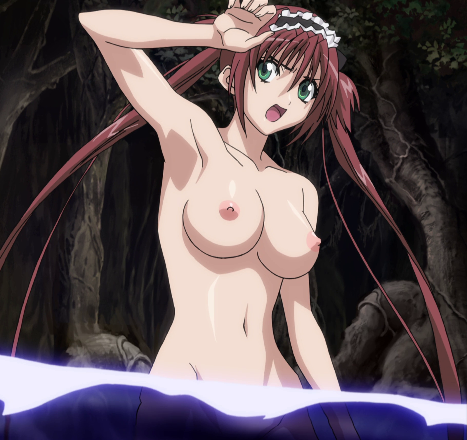 Queens blade covered pussy