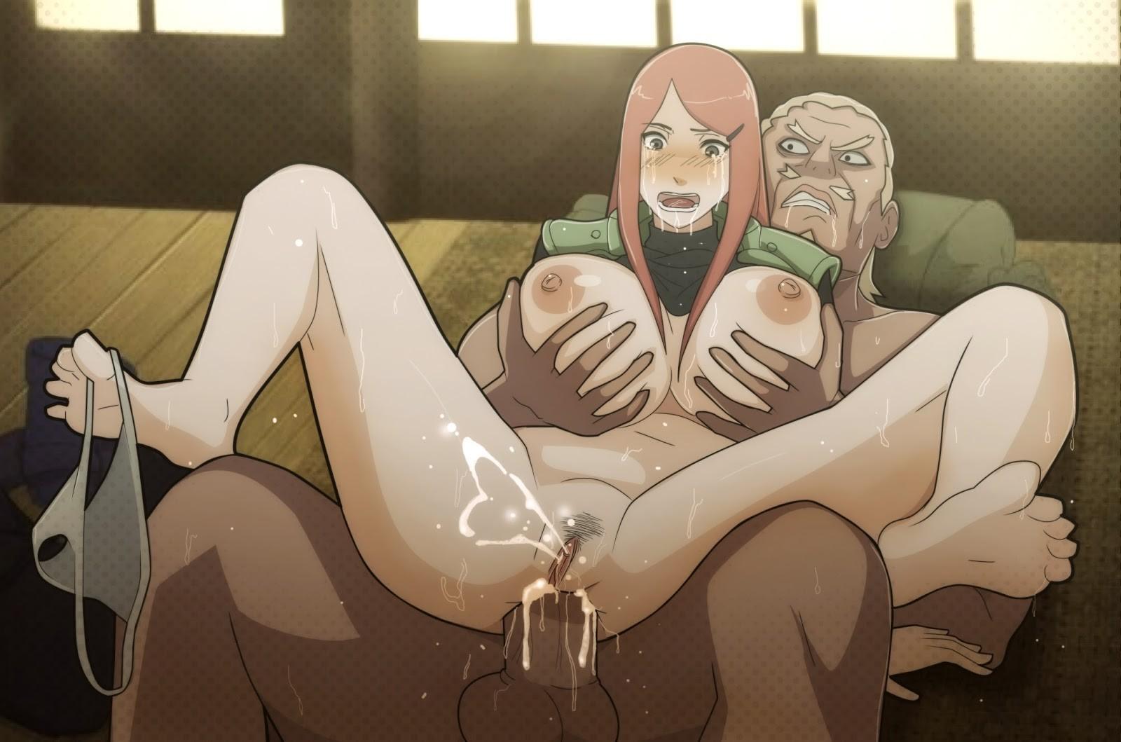 Naruto kushina hentai