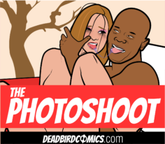 Brutal Interracial-The Photoshoot- by Mr Deadbird