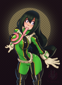 Tsuyu Asui Quality Selection – My hero academia