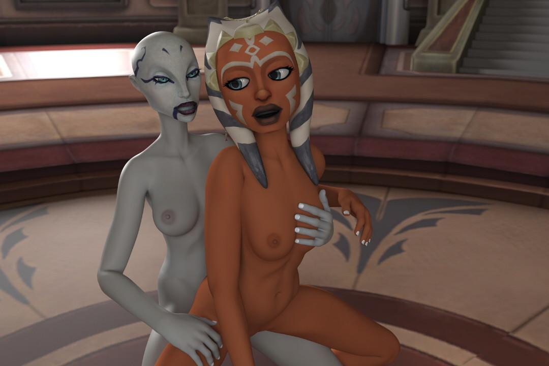 Ahsoka lesbian porn gif