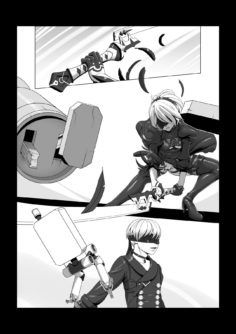 [John Doe] Unfinished Nier: Automata comic (NieR:Automata)