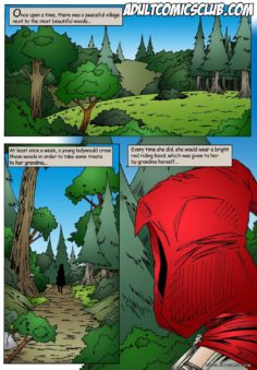 [Leandro Comics] Little Red Riding Hood