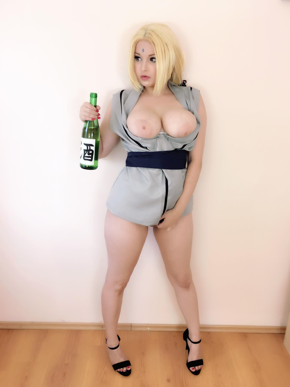 Porn tsunade cosplay Hidori rose