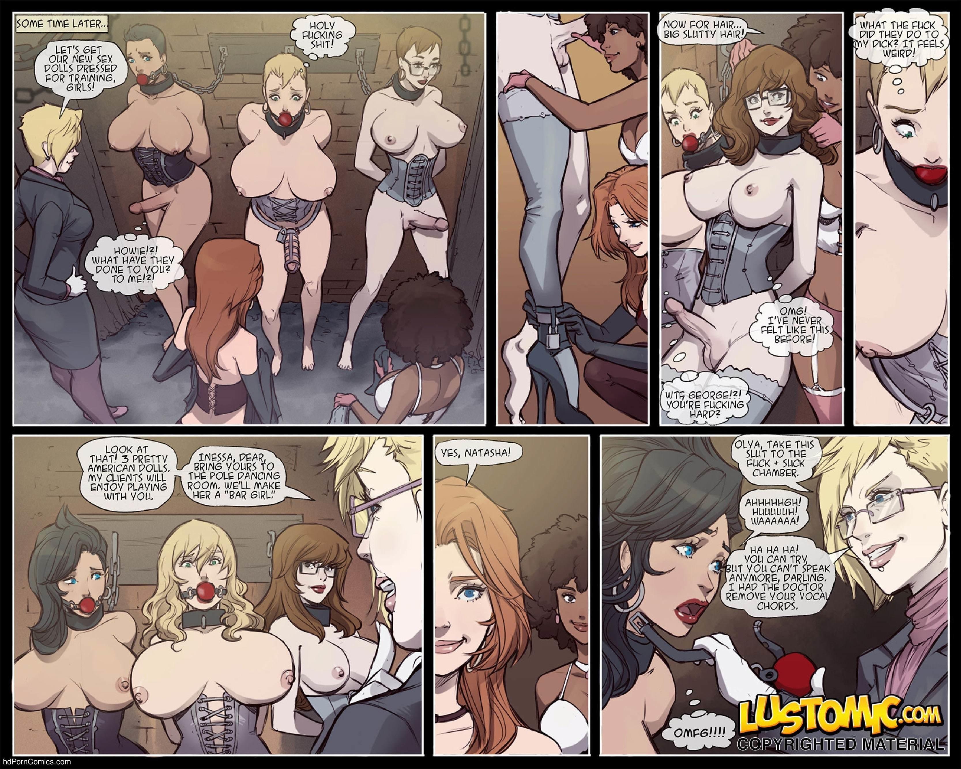 Forced feminization comics