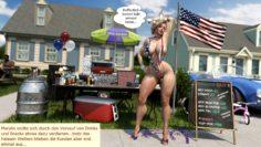 Marylins American Summer…comic in german translation