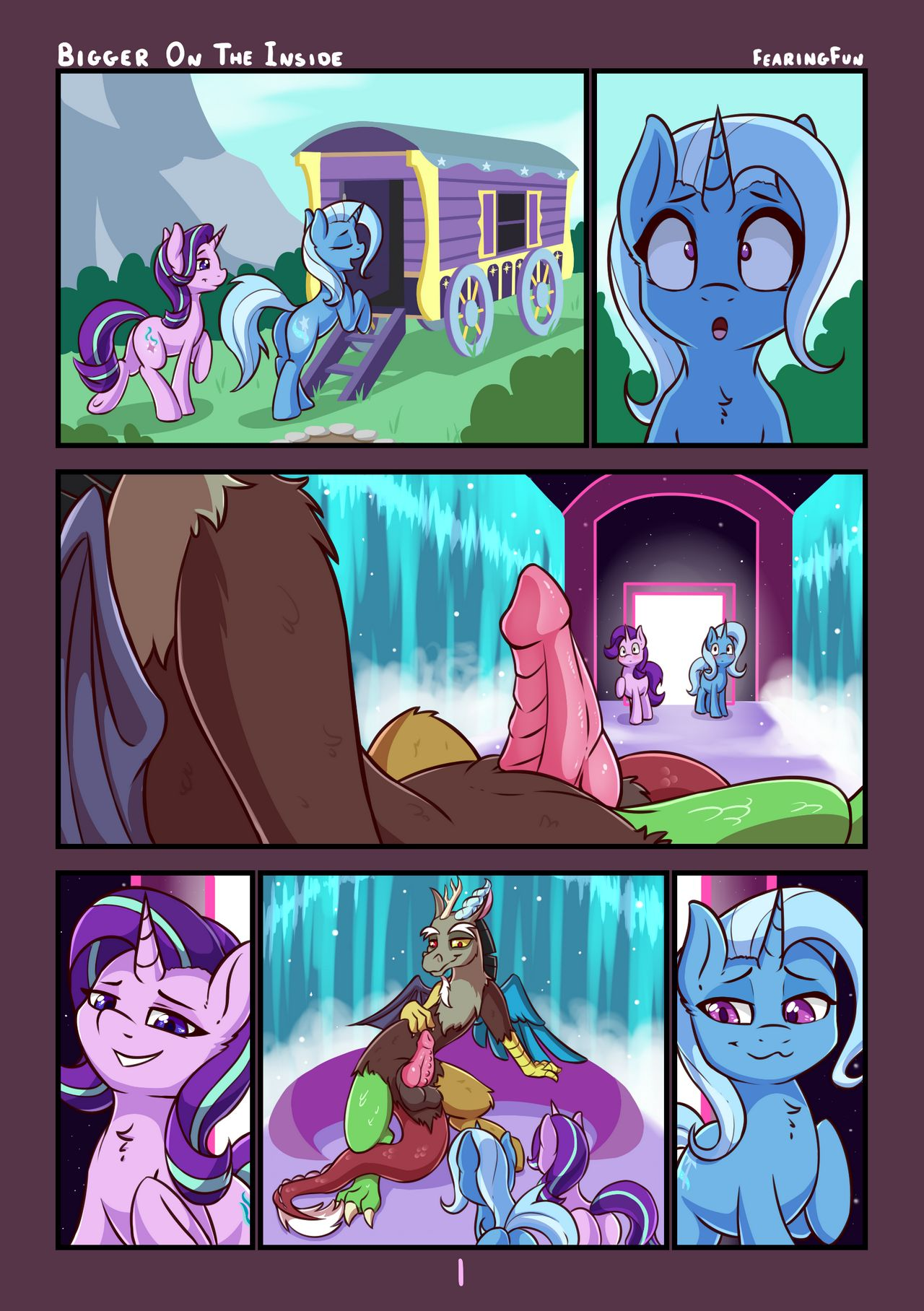 [Fearingfun] Bigger On the Inside (My Little Pony_Frienship is Magic)