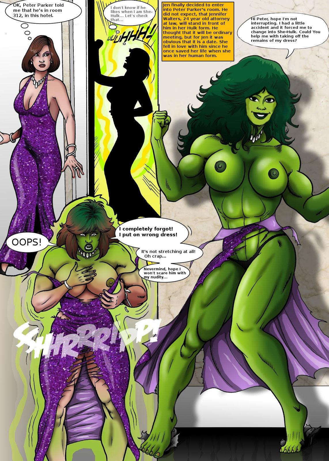 She-Hulk Transformations Hentai Online porn manga and ...