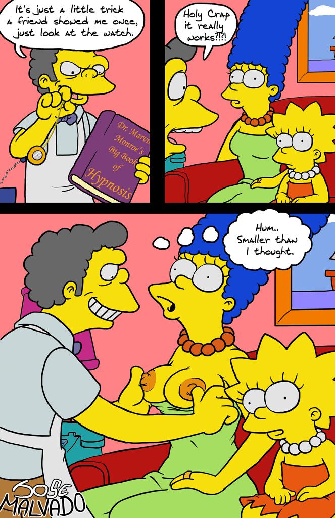 Hypnosis porn comic