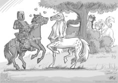 [Fredrik K. T. Andersson] Knights, Centaures, and Fairys