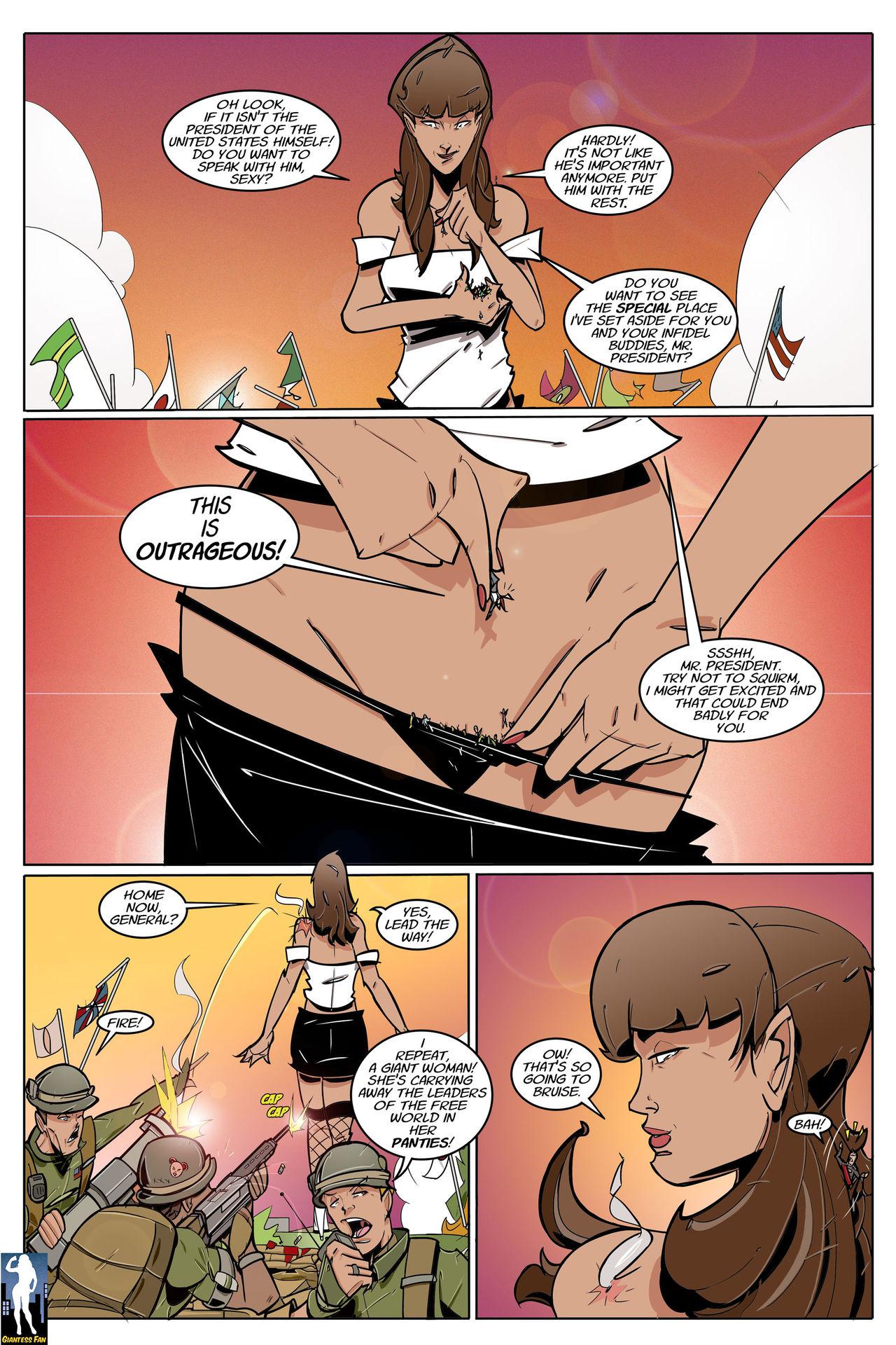 Free comics giantess FaTerGD Free