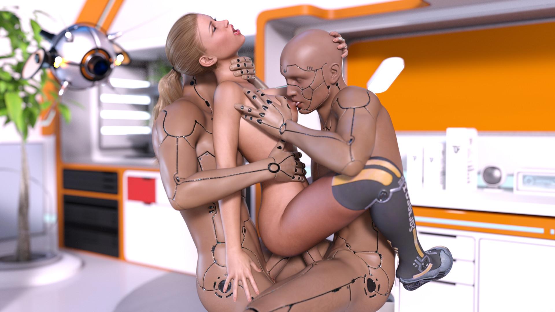 порно фильм девушка робот - 7