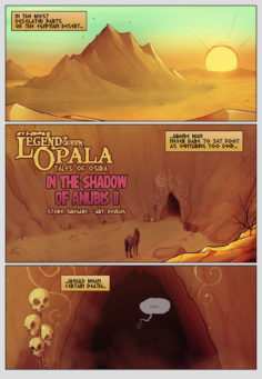 Legend of Queen Opala In the Shadow of Anubis II