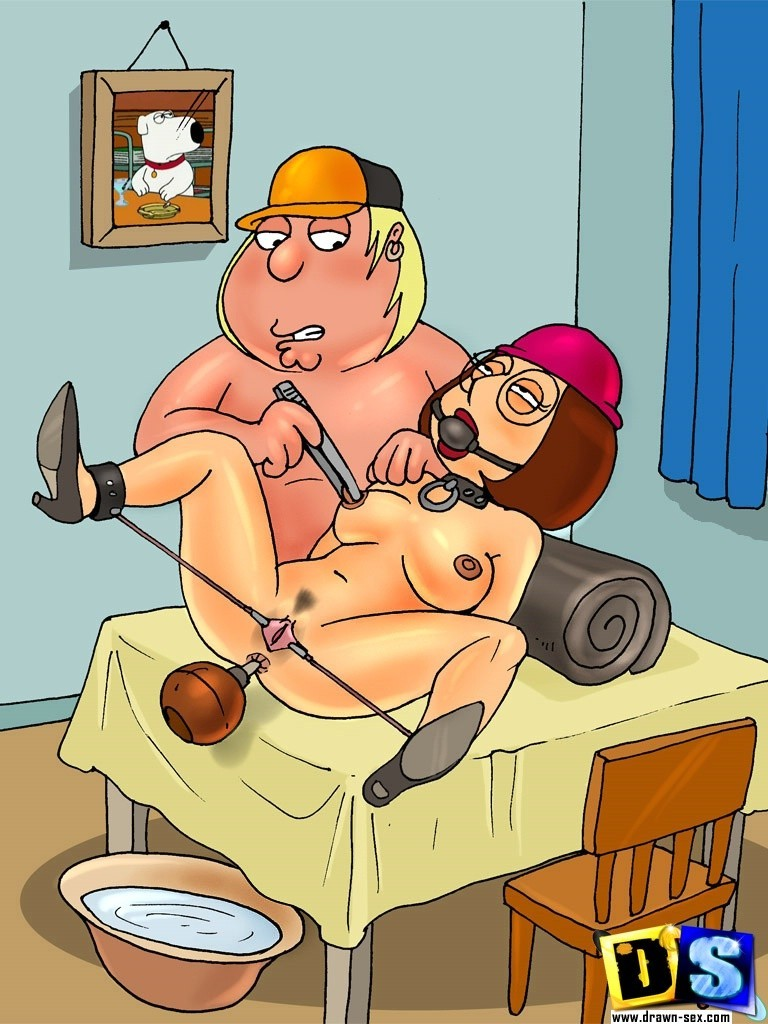 meg griffin family guy bondage