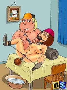 Family guy – Meg and Louis piss and poop and other body fluids