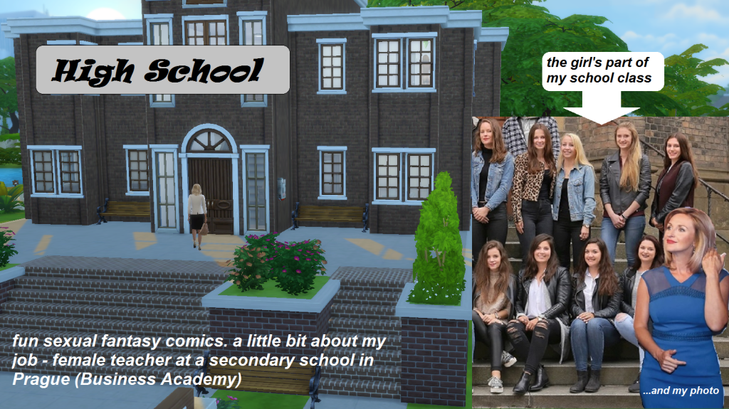 High School – sex comics