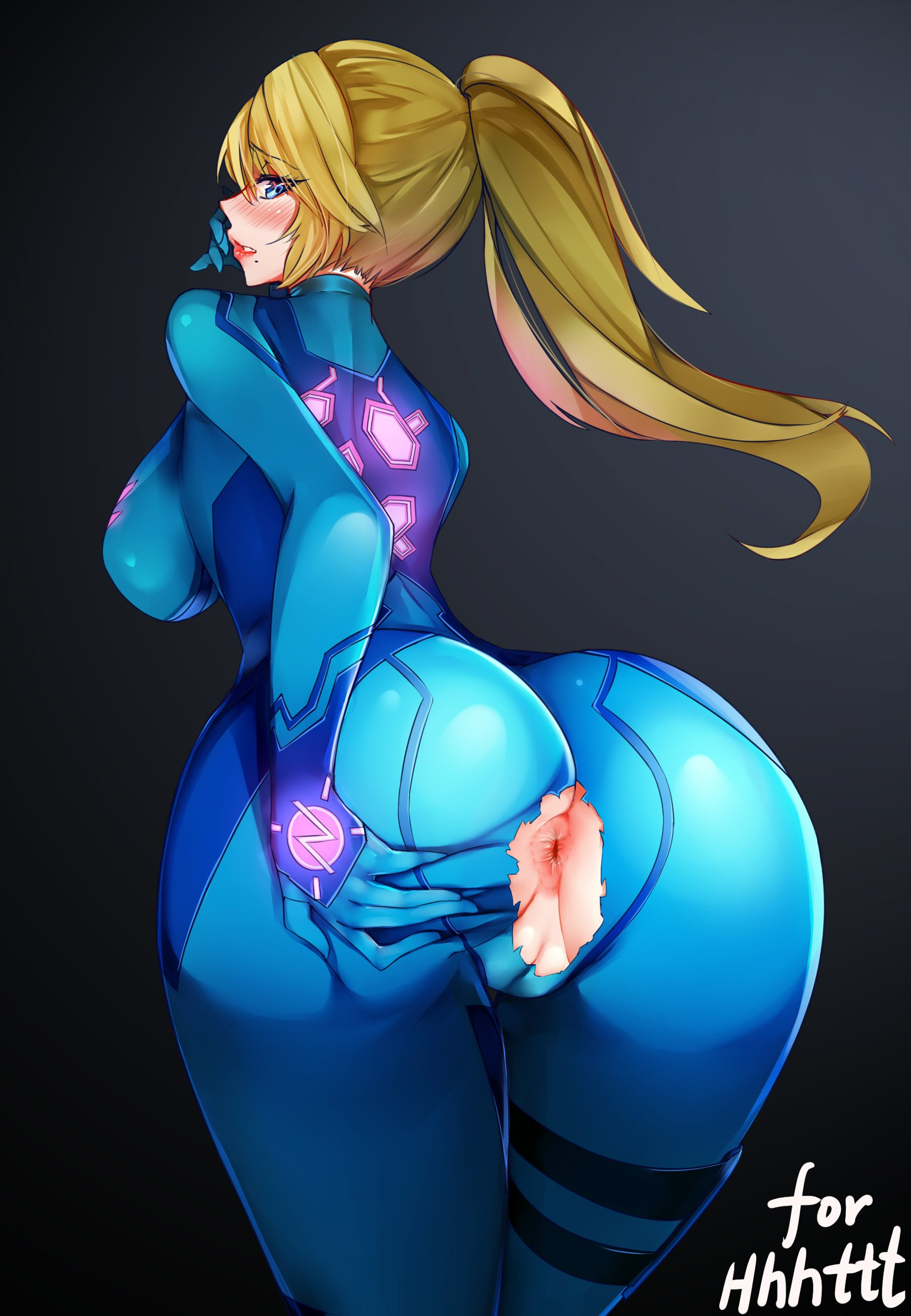 Two rich samus zero suit naked pussy