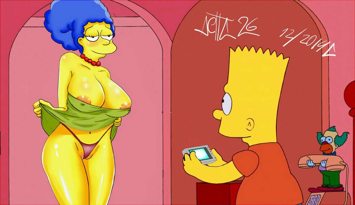 Marge simpson naked tram stopped 8