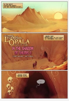 Legend of Queen Opala – In the shadows of Anubis II