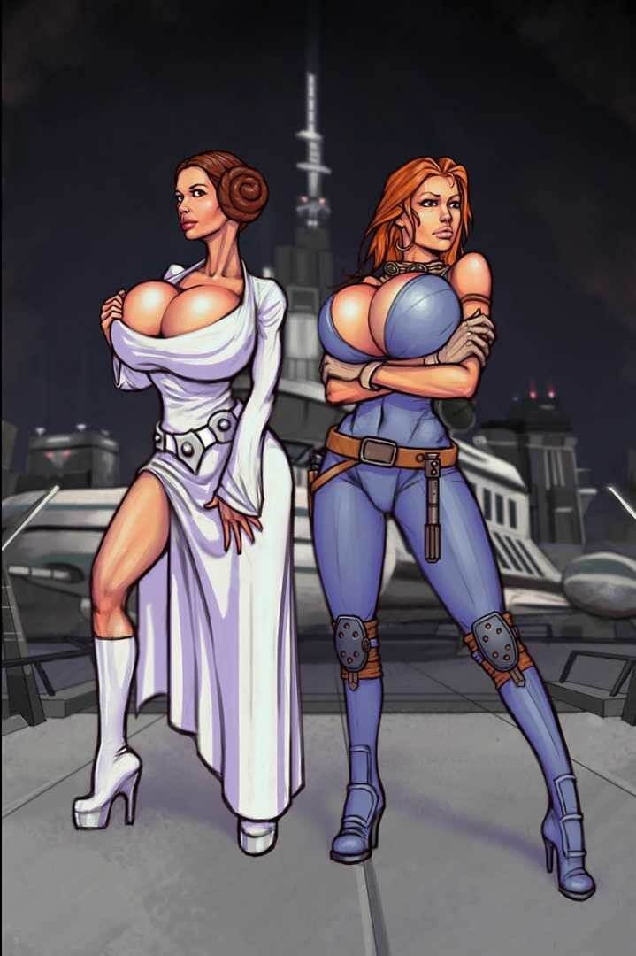 Princess Leia & Mara Jade