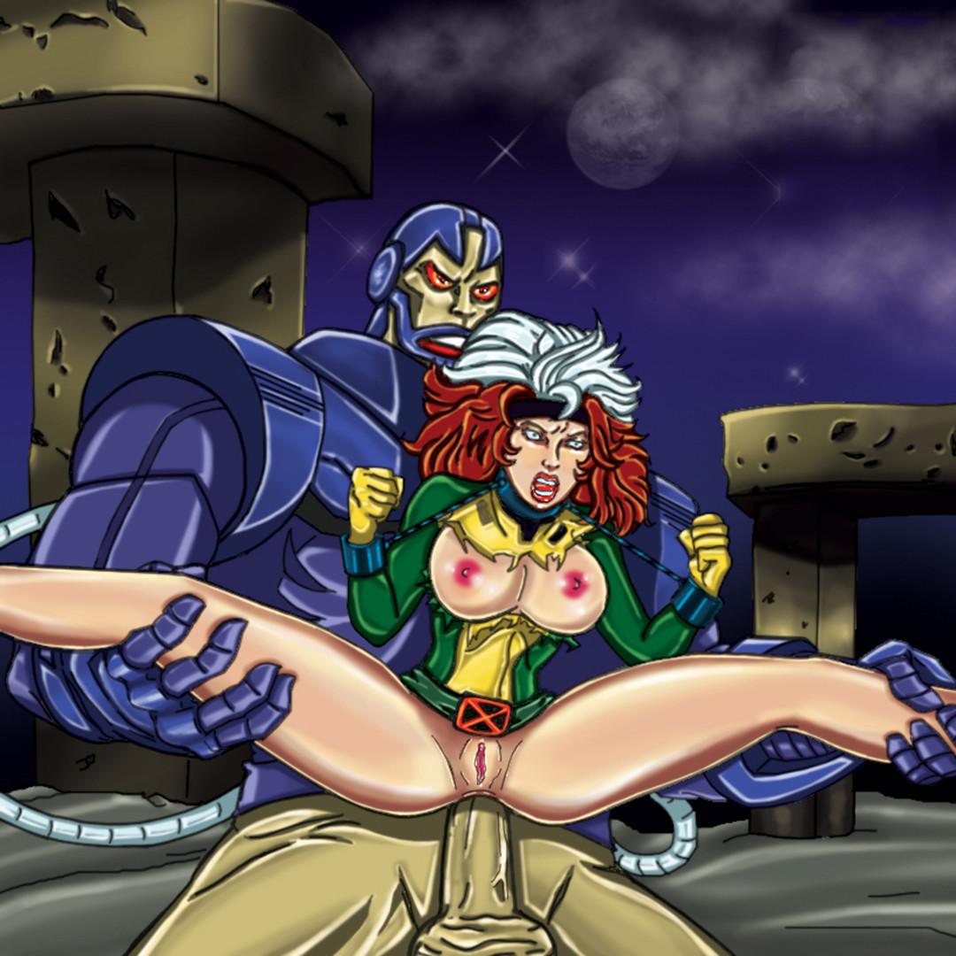 Xmen Rogue Hentai